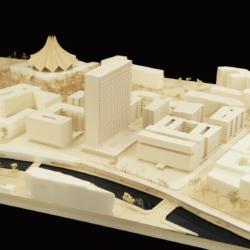 Modellfoto von sauerbruch hutton Architekten