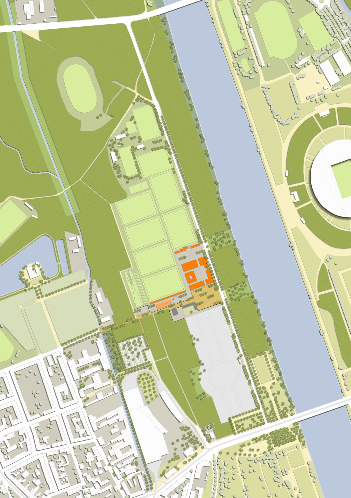 Rahmenplan Cottaweg Leipzig