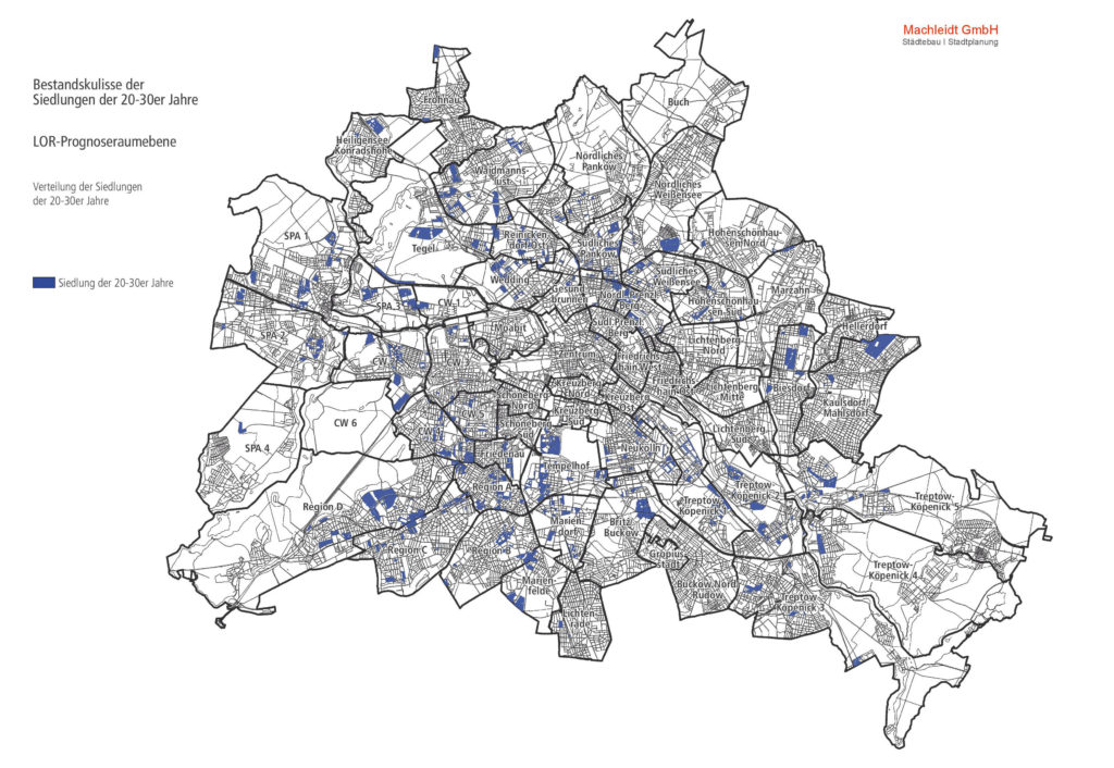 Dachraumpotenzialanalyse Kulisse der 20er- und 30er Jahre