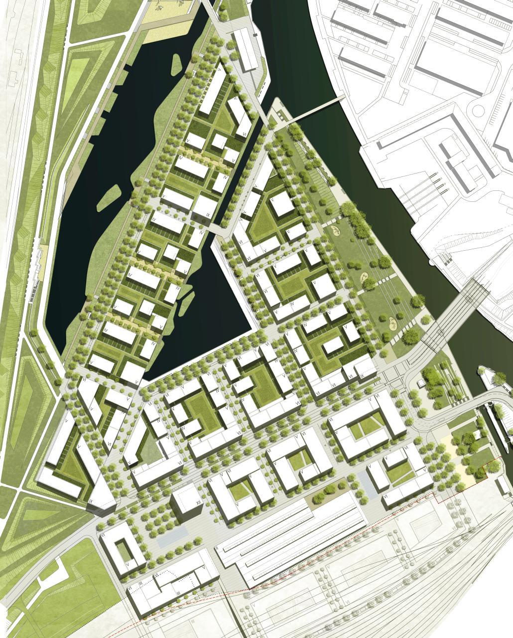 Heilbronn Neckarbogen Masterplan