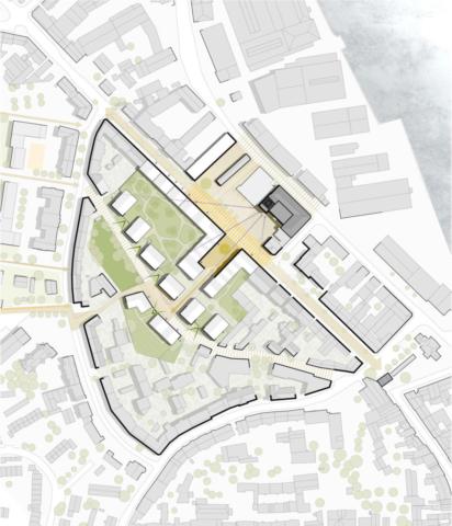 Städtebauliches Konzept M 1:1.000