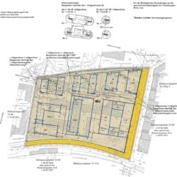 Ausschnitt Bebauungsplan VI-46-1 Hallesches Ufer, ehemaliges Postscheckamt Berlin